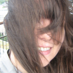 nicht ganz so windfeste Frisur